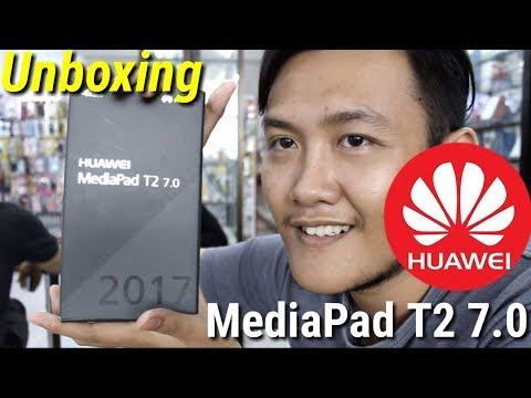 Huawei Mediapad T2Unboxing TAB 4G murah 1 jutaan - REFRY REVIEW