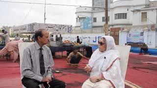 With Zeba Shahnaz JDC