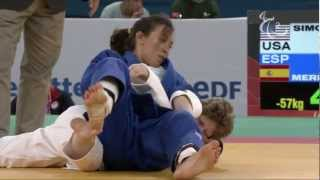 Judo - USA versus ESP - Women -57 kg Quarterfinals - London 2012 Paralympic Games