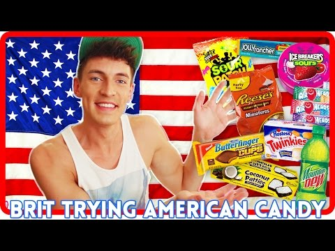 TRYING AMERICAN CANDY! | Doug Armstrong