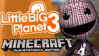 Minecraft PS4/PS3 - LittleBigPlanet Mash-Up Pack! - Episode 1