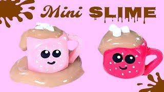 DIY Miniature Hot Cocoa Slime