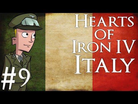 Hearts of Iron 4 | Italy | Part 9 | Rush to Ankara