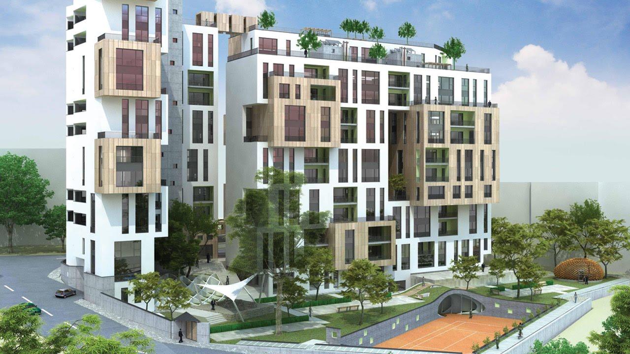 Apartment Building Facade Tehran Iran