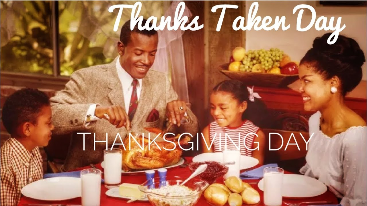African Americans Shouldn't Celebrate Thanksgiving