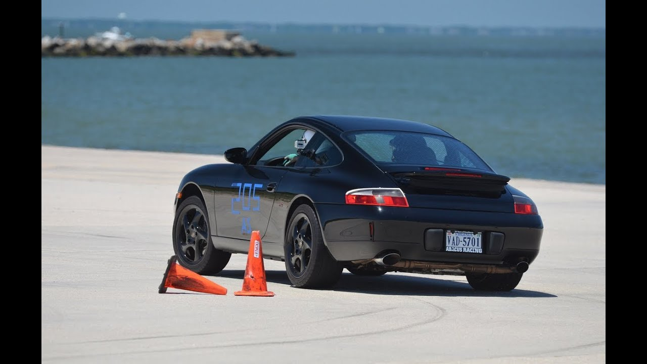 2000 Porsche Carrera 911 996 Tscc Autocross 6 15 14