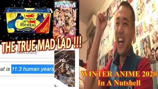 """MadLad Special Reaction to """"Winter Anime 2020 in a Nutshell"""" by GIGGUK"""