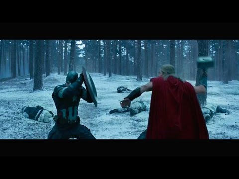 Thor - Fight Moves Compilation(AoU Included) HD thumbnail