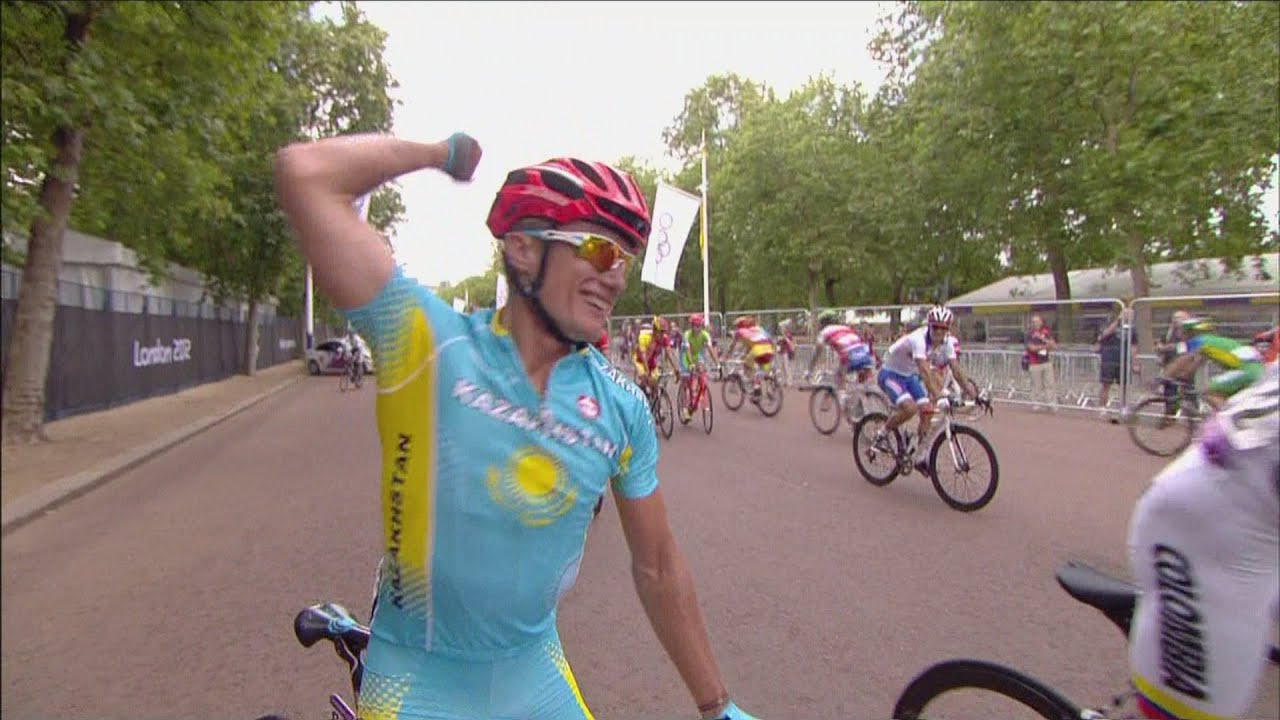 Vinokurov wins Men's Road Race Gold - London 2012 Olympics