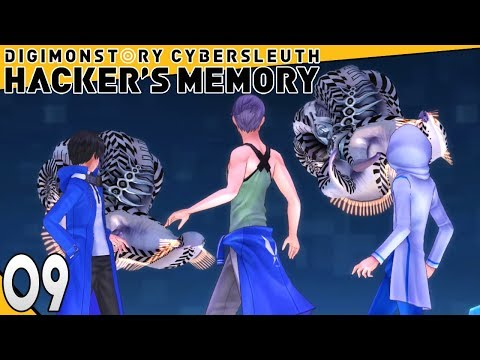 Digimon Story Cyber Sleuth Hackers Memory Part 9 EATERS! PS4