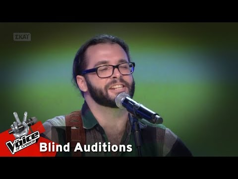 Alex Hamel - Take it easy  | 6o Blind Audition | The Voice of Greece