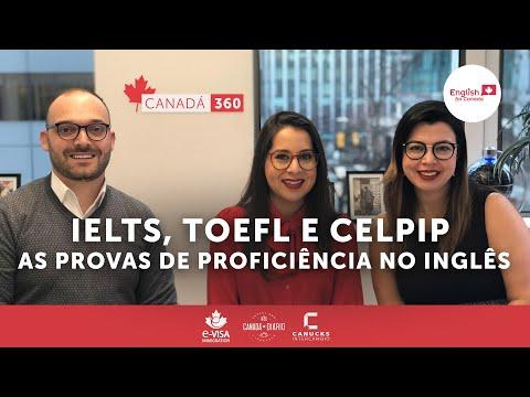 IELTS, TOEFL E CELPIP As provas de proficiência no inglês Com Maria Alfaro da English for Canada