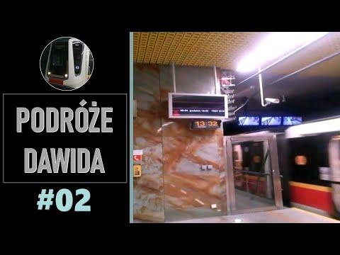 Podróże Dawida (2) - od ronda ONZ do ronda Daszyńskiego (Metro Warszawskie)