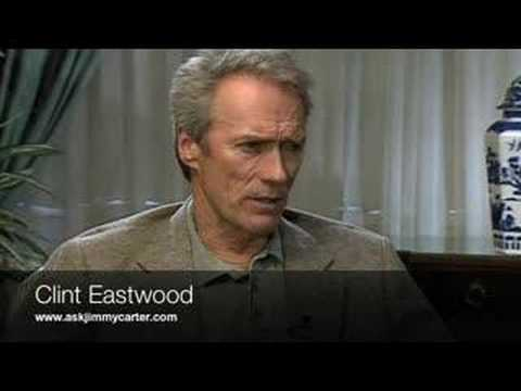 Clint Eastwood interview with Jimmy Carter