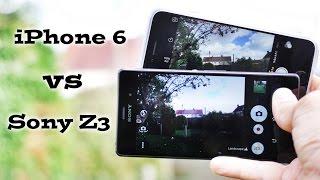 iPhone 6 vs Z3 - Photo Camera Battle - part 1 - Auto mode