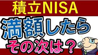 【積立NISA・卒業】満額したら次はどうする…?おすすめ投資先