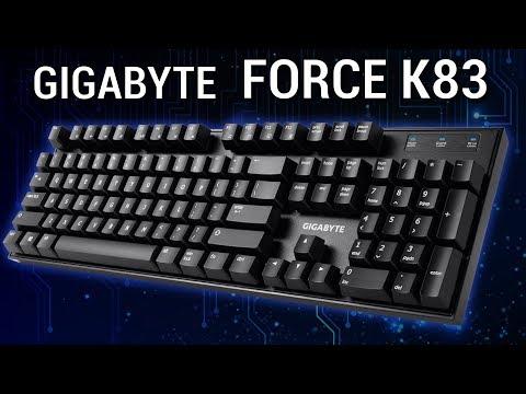 ¿El teclado mecánico más barato? Gigabyte Force K83  ClickNTest