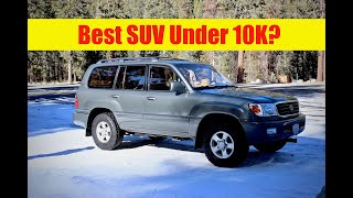 2000 Toyota Land Cruiser Owners Review (Best SUV For The Money?)