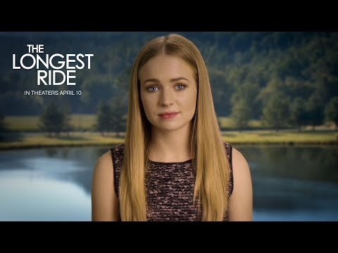 The Longest Ride | Britt Robertson The Bachelor Finale Message [HD] | 20th Century FOX