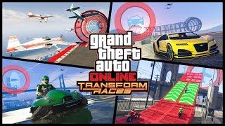 GTA Online: трейлер гонок «Трансформации»