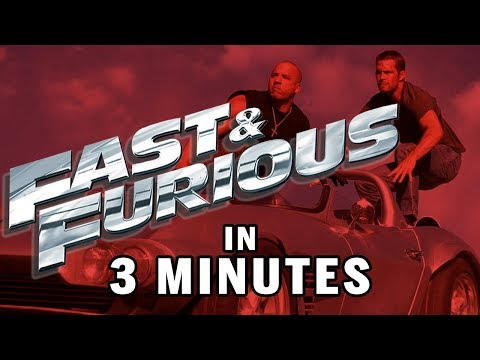 The Fast and Furious Series Explained // 3 Minutes Or Less | Snarled