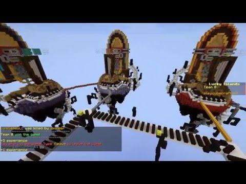 Minecraft /Lucky Islands 1 Partida/ LuisGames