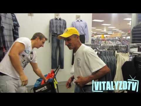 Extreme Homeless Man Makeover! [Vitalyzdtv]