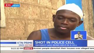 Shot in Police cell: Suspect shot while being held at Dandora police station