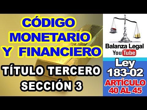 DE LAS OPERACIONES DE LOS BANCOS MÚLTIPLES Y ENTIDADES DE CRÉDITO from YouTube · Duration:  12 minutes 48 seconds