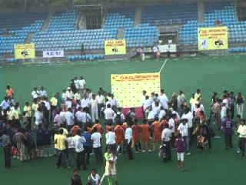 Chotanagpur Tribal Hockey Prize distribution