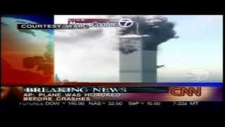 September 11 2001 As It Happened - CNN Live 8.40am - 10.11am