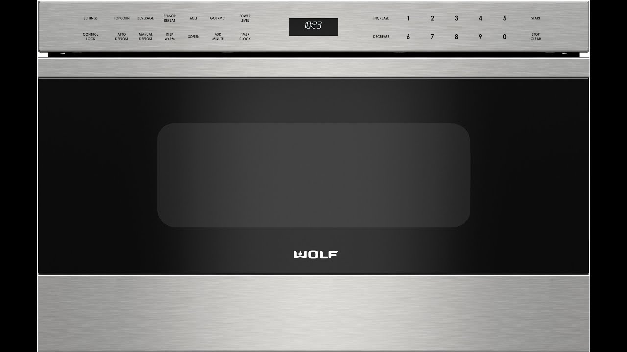 wolf drawer microwave oven not heating food diagnosis repair