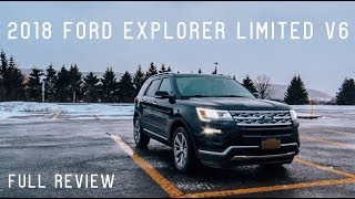 2018 Ford Explorer Limited V6 Road Test & Review