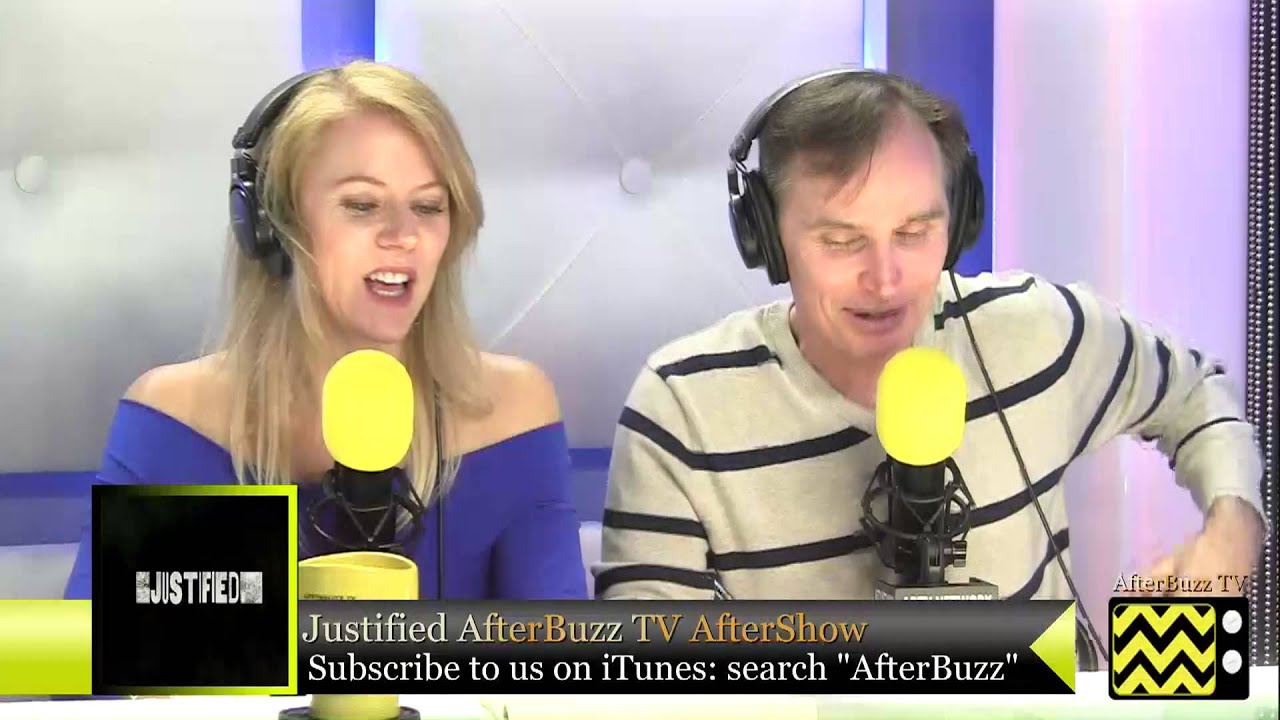 """Download Justified After Show w/ Chris Weir Season 4 Episode 1 """"Hole in the Wall""""   AfterBuzz TV"""