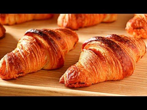 Croissant -  Medialunas - Cuernitos - Receta AUTÉNTICA