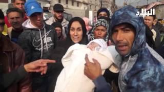 العاصمة : مئات العائلات تحتج على اقصائها من الترحيل  --el bilad tv -