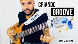 CRIANDO GROOVE 4 com Ghost Notes │ViniBass®  HD