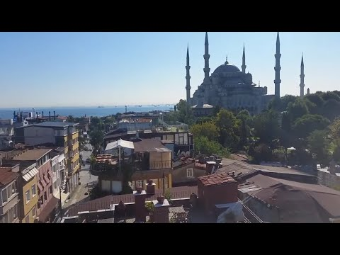 OUR AMAZING RESTAURANT VIEWS FROM iSTANBUL / TURKEY