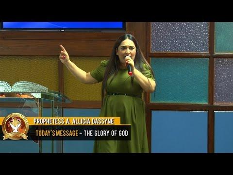 Prophetess A Allicia Dassyne - The Glory of God (12-10-2016)