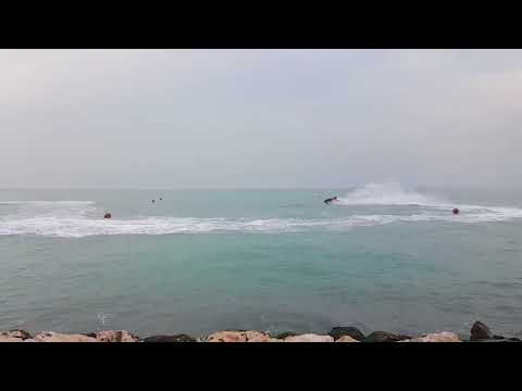 Jetski practicing   Doha Qatar Al wakrah port
