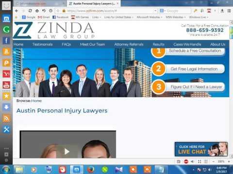 43Personal injured attorney austin