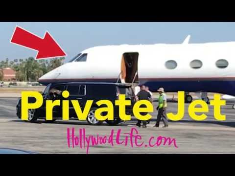 Justin Bieber & Sofia Richie Board Private Jet - Exclusive VIDEO