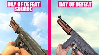 Day of Defeat Gun Sounds vs Day of Defeat Source