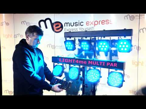 MUSIC EXPRESS - Porównanie LIGHT4me MULTI PAR - LIGHT4me MULTI PAR 2