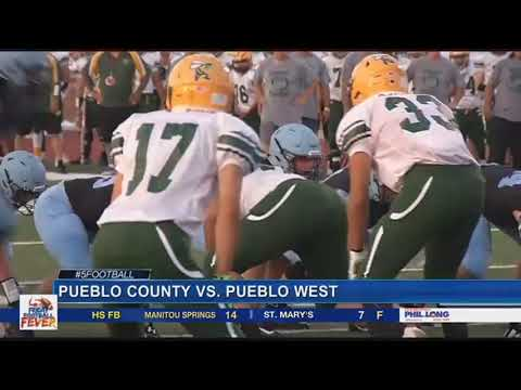 Friday Football Fever Week 1: Pueblo County vs. Pueblo West