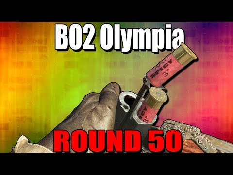 BO2 OLYMPIA On Round 50 - Call Of Duty Black Ops 2 Zombies thumbnail