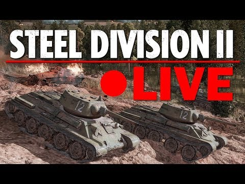 RELEASE Day! Steel Division 2 with VulcanHDGaming (Live on Steam store page, thanks Eugen!)