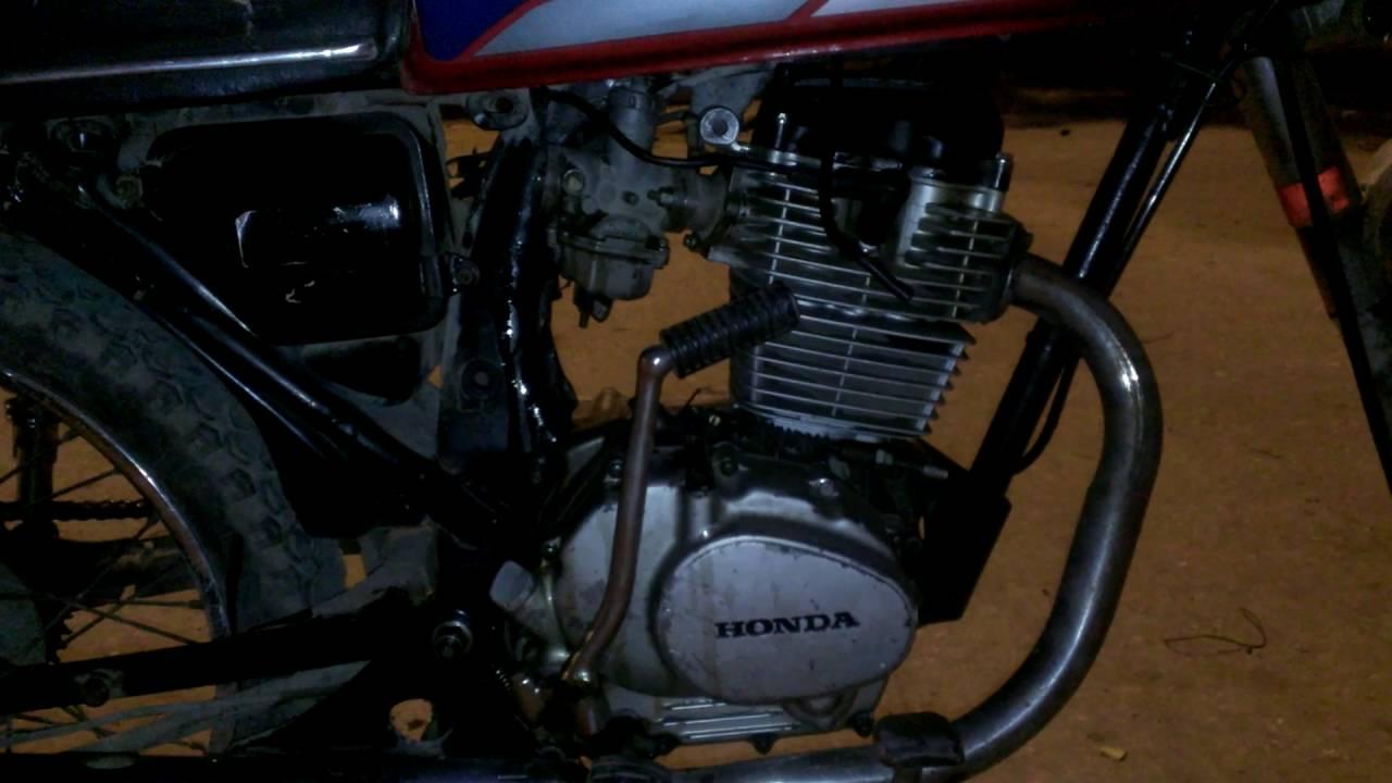Honda Cg125cc Convert 250cc