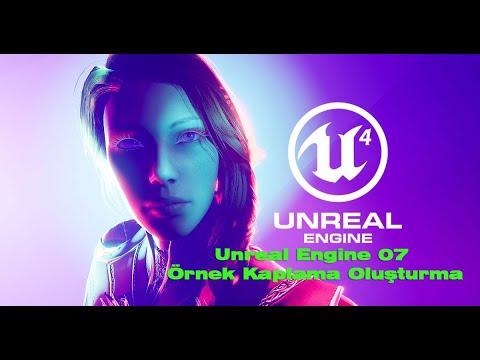 unreal-engine-07-Örnek-kaplama-oluşturma