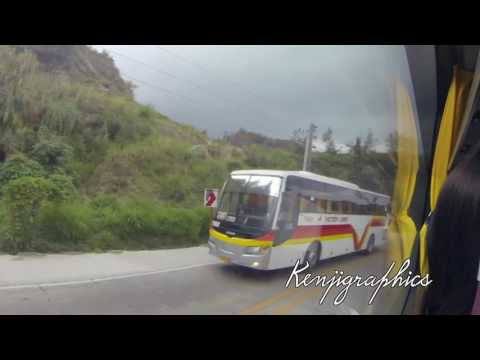 Drive: From Baguio to Sison Bus Stop in Sison, Pangasinan